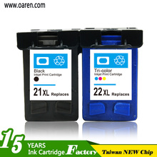 Printer Compatible Ink Cartridge for hp 21 22