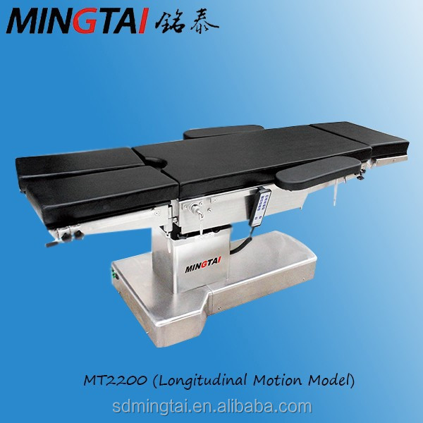 Electric Surgical Operating Room Table Medical Equipment / X-ray Transparent Operating Table