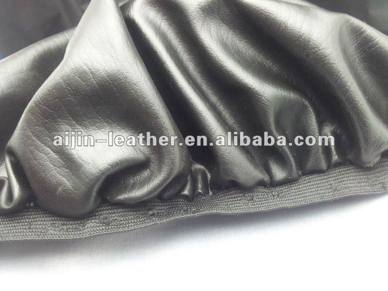 Motorcycle seat leather