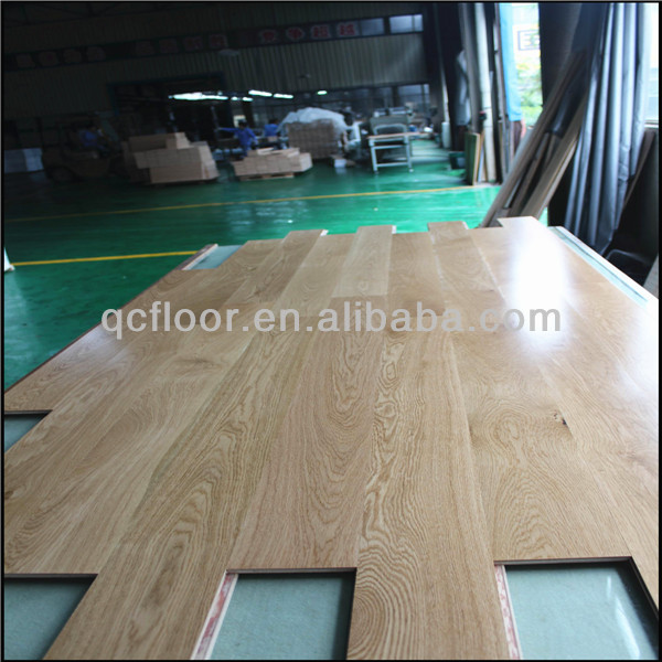 High Glossy Oak Engineered Wood Panel Flooring Cheap Price