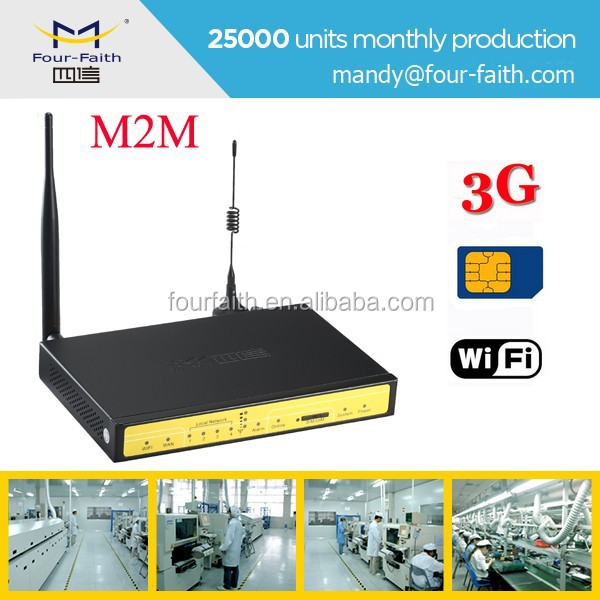 F3434 ATM sim openwrt 3g wifi router with sim card slot 3g to wifi PSTN converter arm router