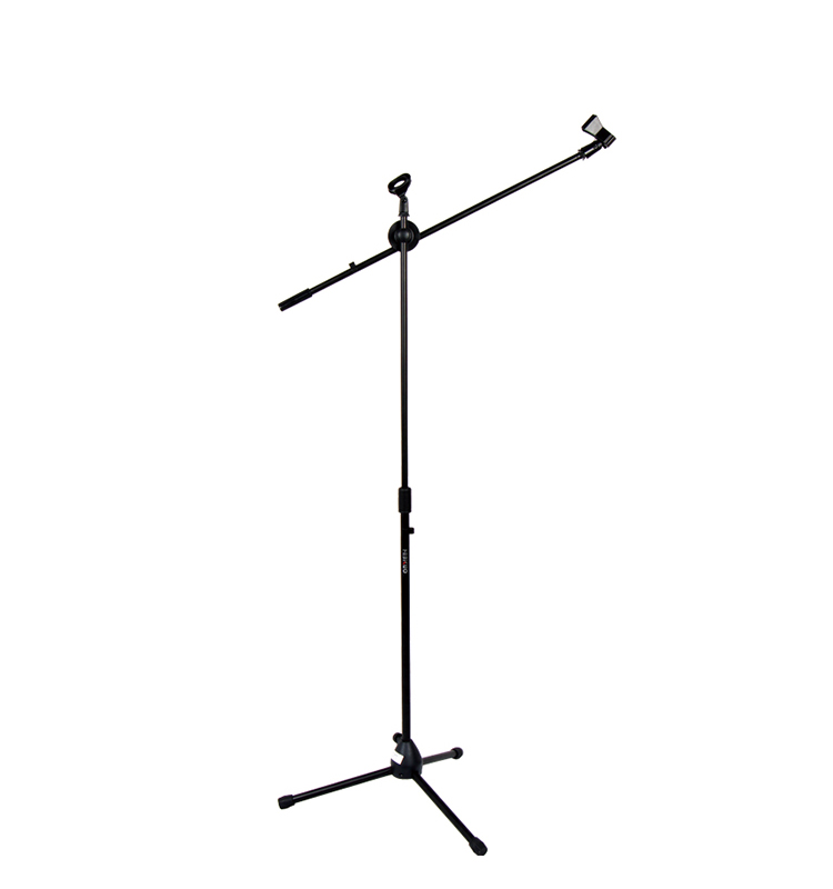 Height Adjustable custom professional black color microphone stand accessories