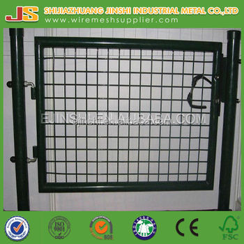 designed house fence gate (factory)