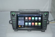 free shipping 8″Android 4.4.4 for Toyota prius left 2009 2013 car dvd,gps navigation 3G,4 core,16G,1024 x 600,Russian,English