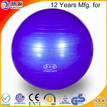65cm Yoga Ball Exercise Fitness Printed Customized