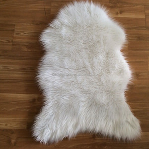 New Coming Customized Artificial Plush Wool Rug Synthetic Fur Rug