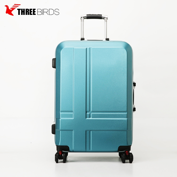 New design hot selling standard size high quality hardshell pc suitcase