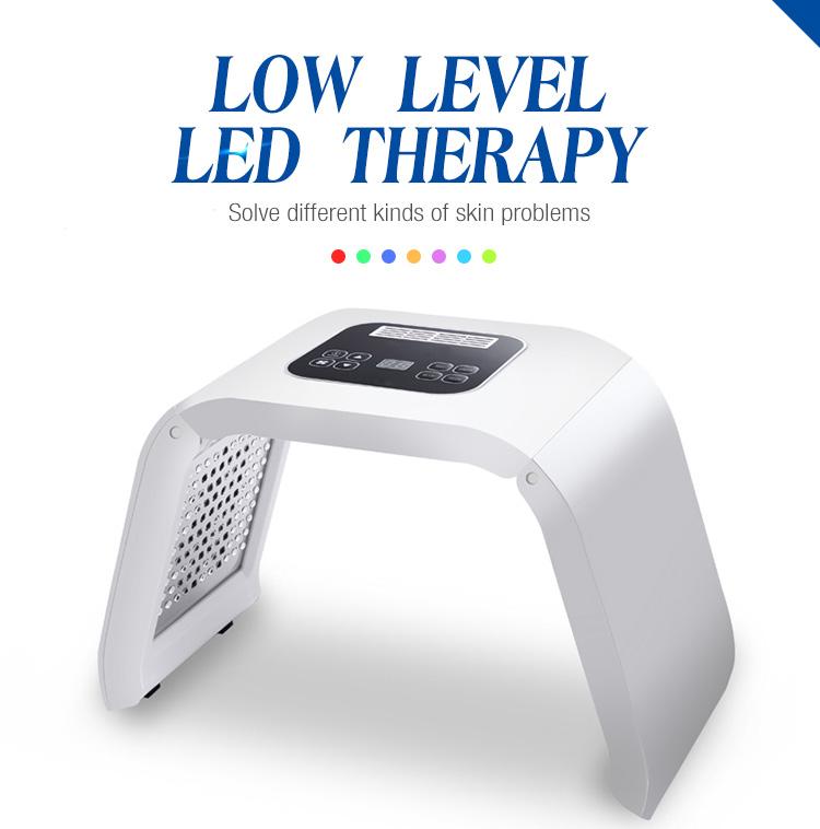 PDT Photon terapia di ringiovanimento della pelle ha condotto la luce macchina del viso