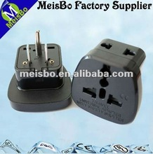 USA type 3 pin CE triple plug socket in side opening