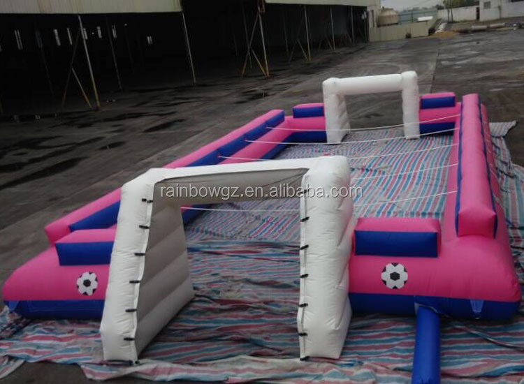 High Quality Inflatable Soap Football Field