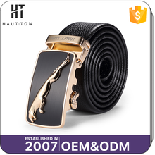 HAUTTON Top Selling Fashion Man Casual Alloy Automatic Belts High Quality Professional Men Genuine Cow Split Leather Belt