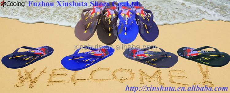 e95504d41474 Oem Cool Design Printed Pe Sole Slippers Flip Flops Shoes For Men ...