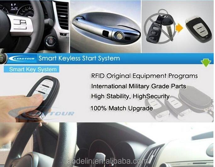 Smart Car Alarm System Engine Start Keyless Entry System For Geely ...