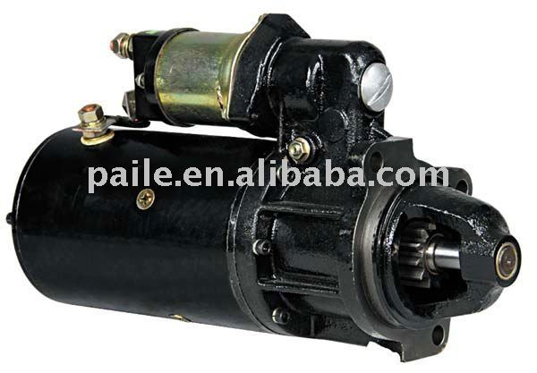 auto engine Starter motor D13HP607 24V 6.6Kw (12TEETH)