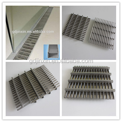 Stainless Steel 304 316 Trench Drain Floor Grates For