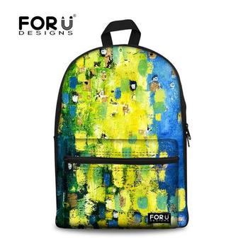 72e0d52b3e6 Nieuwste leuke schooltassen jongens kwastjes, natuur landschap foto of tas  voor de mens