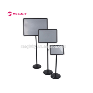 metal floor stand sign hotel lobby display board menu holder