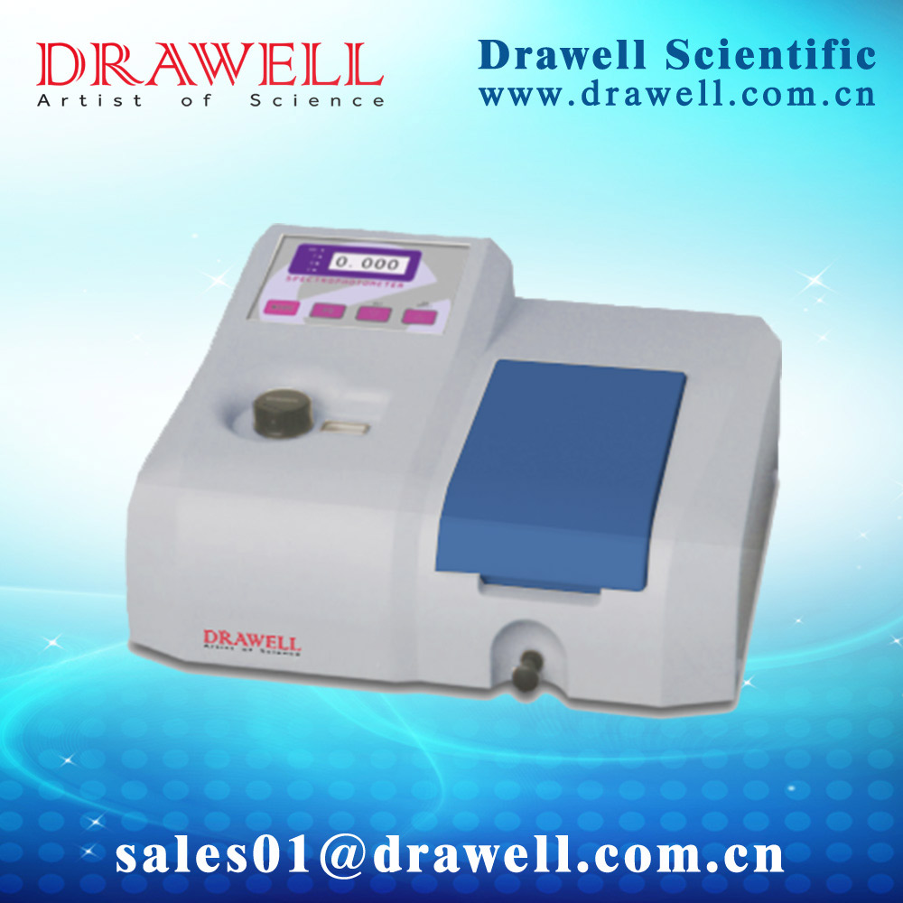 DV-8000 Cheap price of visible spectrophotometer in high quality