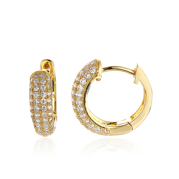 Fancy New Designs Gift Stud Simple Gold Earring For Women