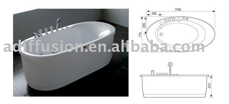 Vasca da bagno di piccole dimensioni vasca da bagno id prodotto 310415500 - Dimensioni vasca da bagno ...