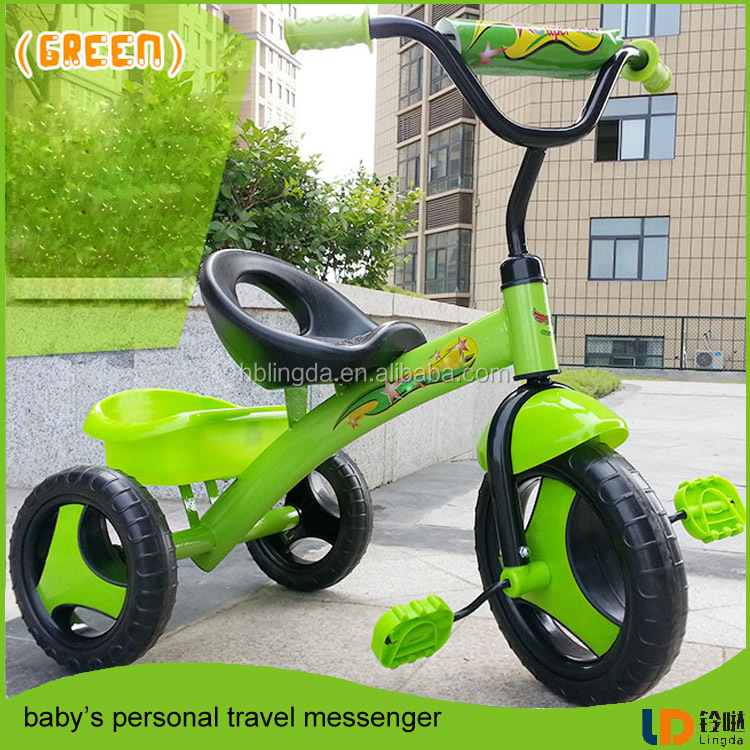 2017 best safety ride on car child vehicle Tvs Tricycle Three Wheeled