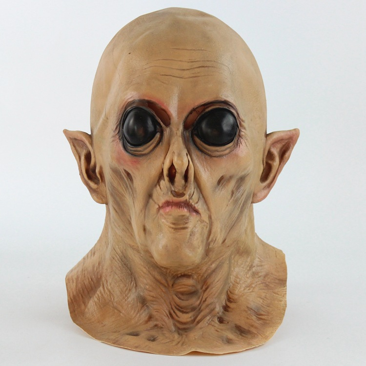 Realistische Horrible Latex Scary Carnaval Party Halloween Alien Masker