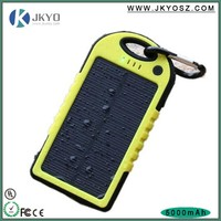 Cheap, light,stylish, Solar Mobile Power Bank USB Solar Battery Panel Charger Solar Power Bank