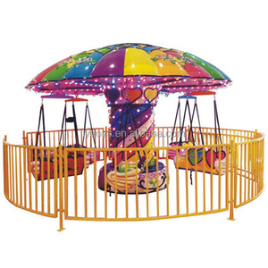 Kid rides amusement park used carousel for sale