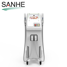 different wave length for hair removal and skin rejuvenation with ipl rlight and shr three system laser beauty machine