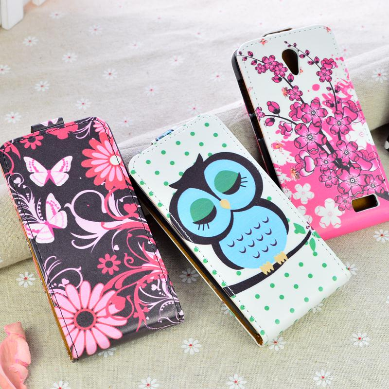 the best attitude 1cfc3 845a8 Printing cute pattern Leather Case cover For Lenovo A319 flip phone bags  Magnetic flip cover 5 colors in stock