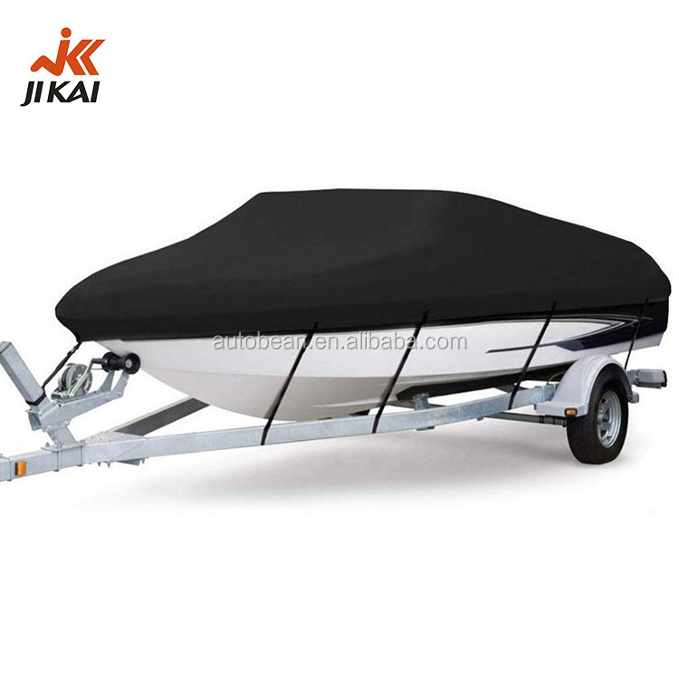 Jet ski cover dustrproof waterproof 300d polyester t-top boat cover