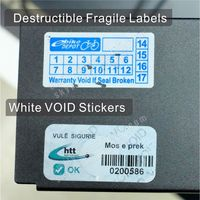 How to choose tamper evident labels,destructible fragile warranty stickers or warranty void vinyl stickers?
