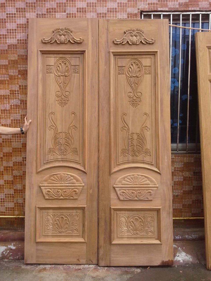 Hand Carved Double Wood Doors Hand Carved Doors Double