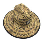 Wholesale Stylish Fashion Unisex Hand Woven Life Guard Big Brim Straw Hat for Sun Proof