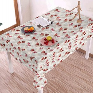 Best sell custom design printed pvc table cloth