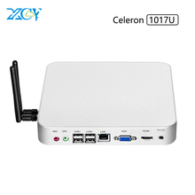 checpest mini PC celeron 1037U dual core HD computer with linux OS 2G Ram 120G SSD Vga+USB