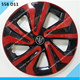 Color hubcaps wheel cover 13 inch wheel cover plastic car wheel cover For Universal Car Use