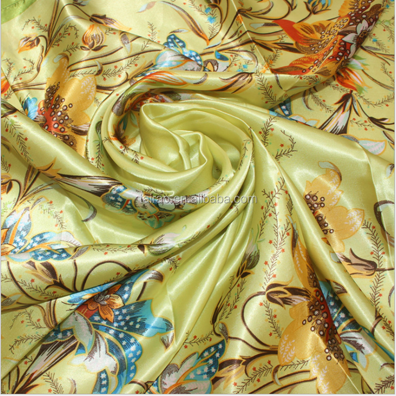 China italian printed silk scarf manufacturer