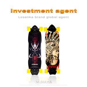 < Agent Wanted> LosenKa MS403 Downhill FreeStyle Complete Wooden Longboard