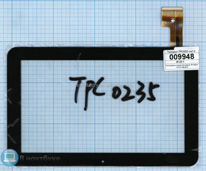 "new 9"" inch touch screen TPC0235 for Sanei N91, Ampe A96 digitizer glass sensor replacement"