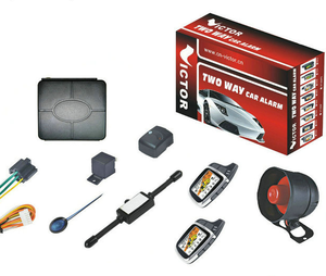 Two way Visual and audio alert car alarm system