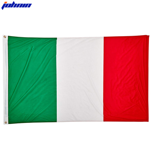 Wholesale Stock Cheap Selling Good Quality Polyester Green White Red Italian Flag