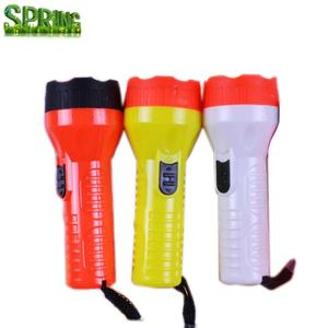 New Design Plastic Led Flashlight Torch ,Cheap Mini light Torch With Rope