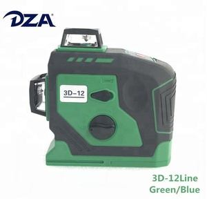 OSRAM LD Blue-green Automatic 3D Self-leveling Rotary 12 Lines Laser Level