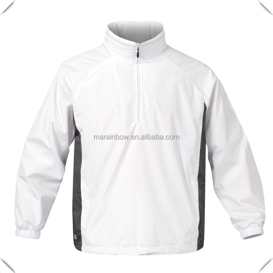 Half 1/4 Zip Waterproof Men's Golf Pullover/sports Men's Pullover ...