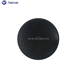 Bath stone furniture based Newest design marble base for sculptures round shape black price