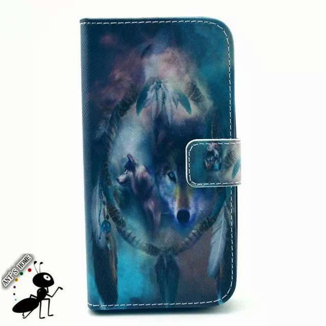 Luxury Leather Cover For Motorola Moto G2 Case Flip Wallet Stand Fashion Painting Cute Cartoon Fundas Case For Moto G2 Capas