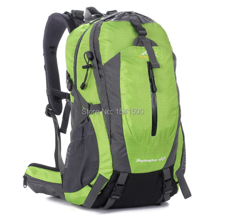 Free Shopping Outdoor Climbing Package Travel Camping Backpack Nylon Waterproof And Tear Sport Climbing Hiking Backpack 40L