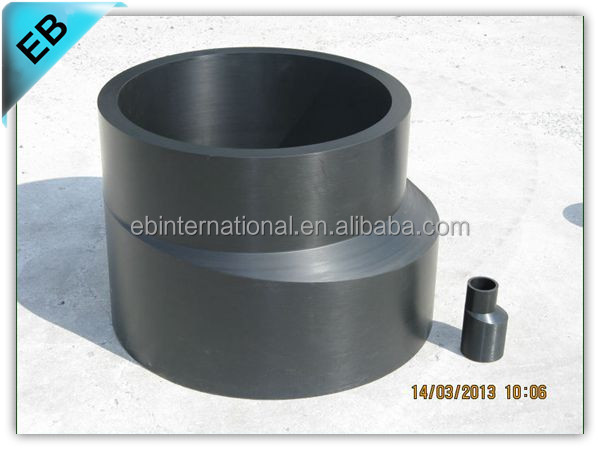 Larg Size High Pressure Pe Pipe Fitting For Water Supply