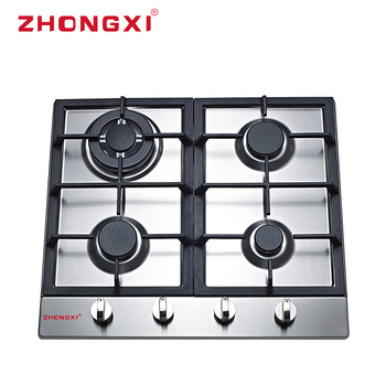 Beat selling factory price cooker gas stove 4 burners stainless steel